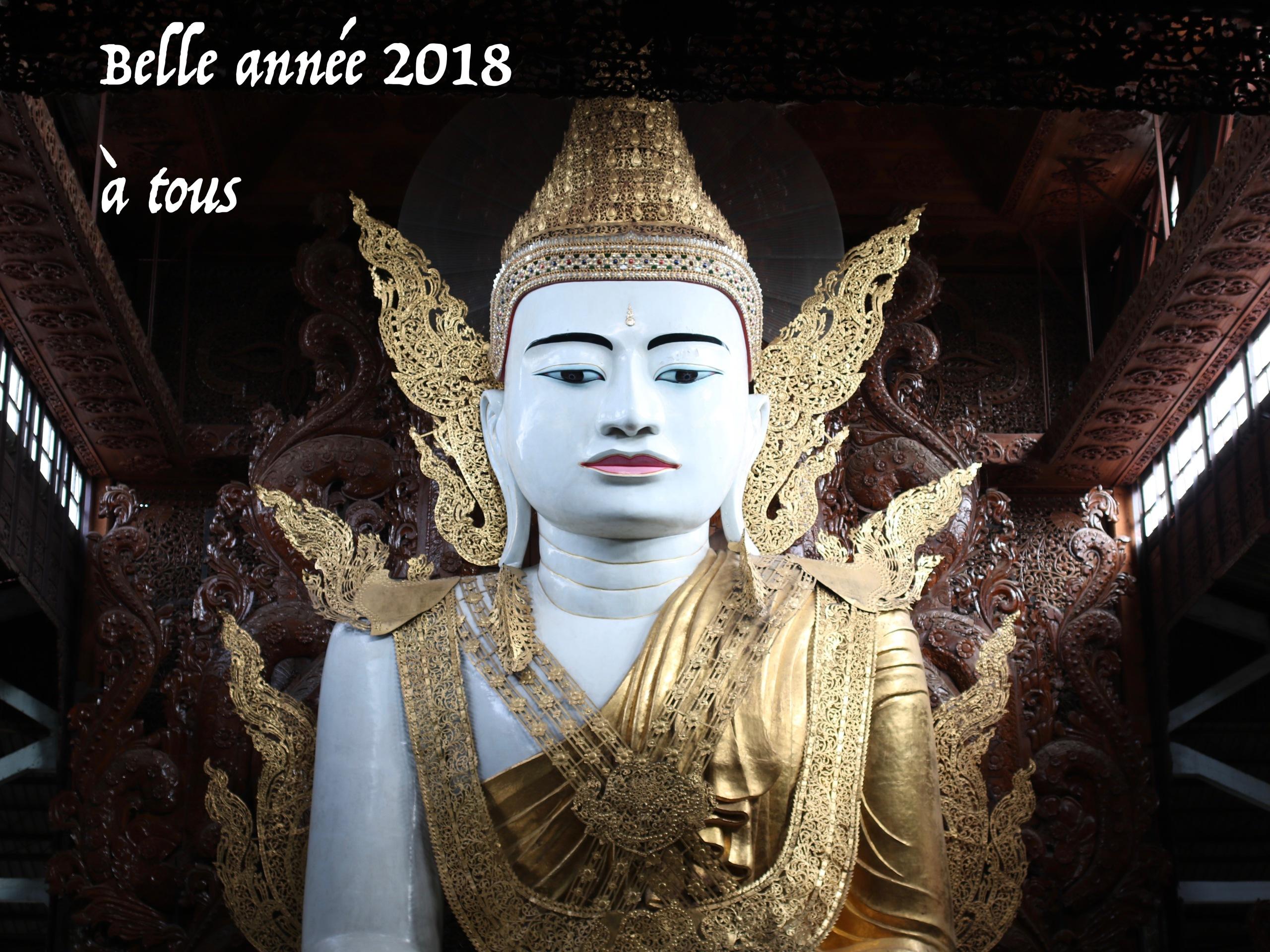 Bonnée 2018 à tous